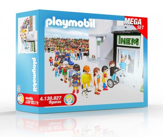 Sale a la venta un playmobil del inem con for Numero de la oficina del inem