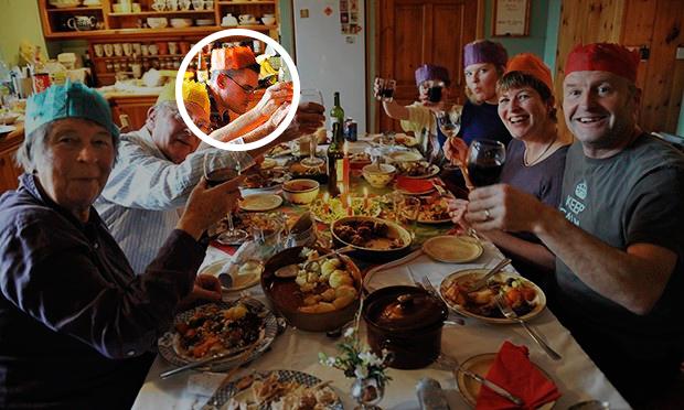 Resultado de imagen de mesa cena de nochebuena