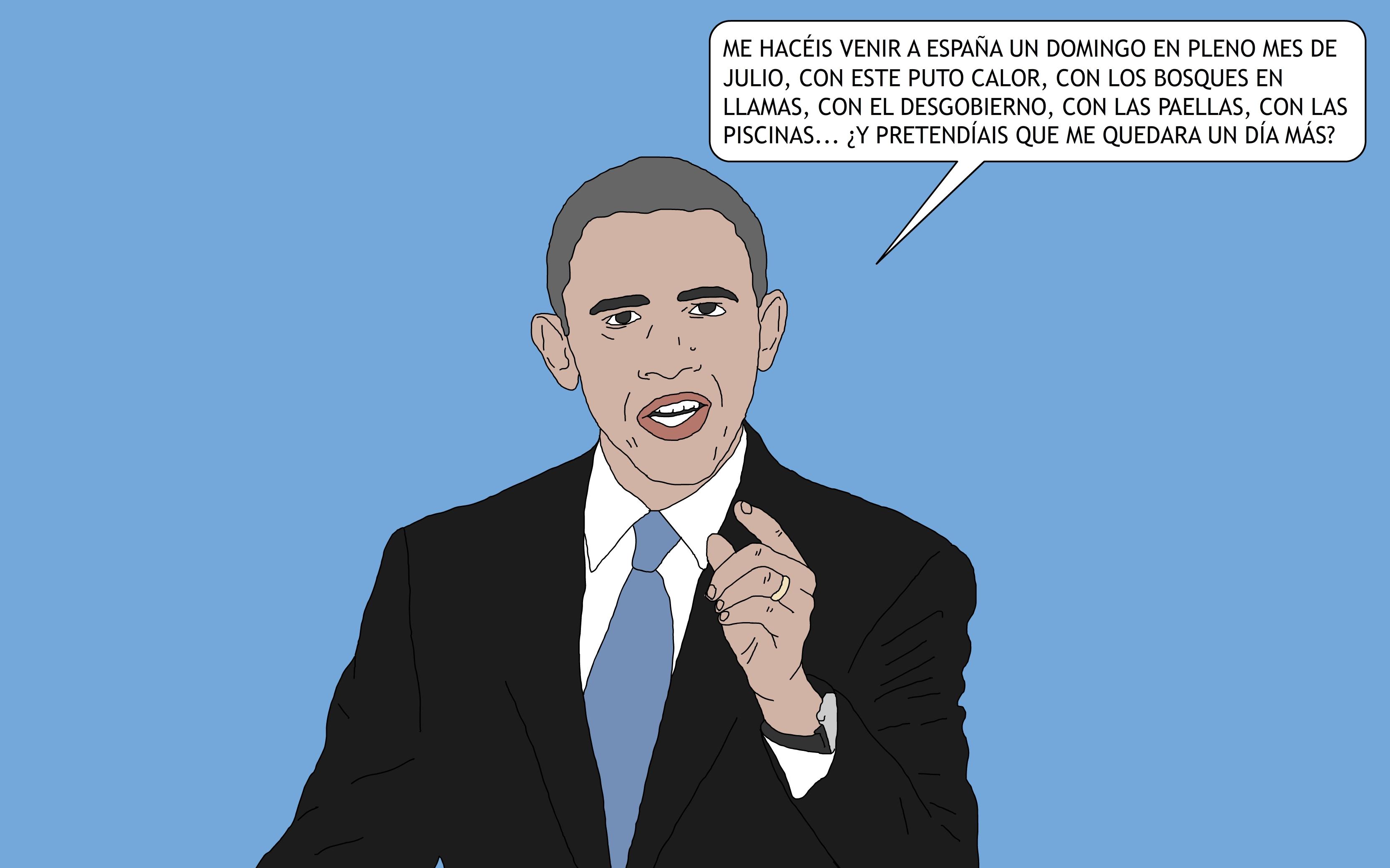 160710 Obama visita Espanya