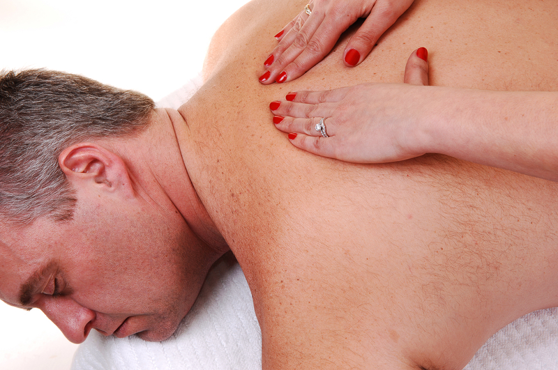 parte superior masaje de final feliz sexo