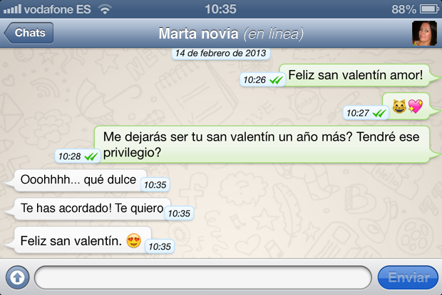 Envia Un Mensaje De Amor Por Whatsapp Mientras Hace De Vientre El