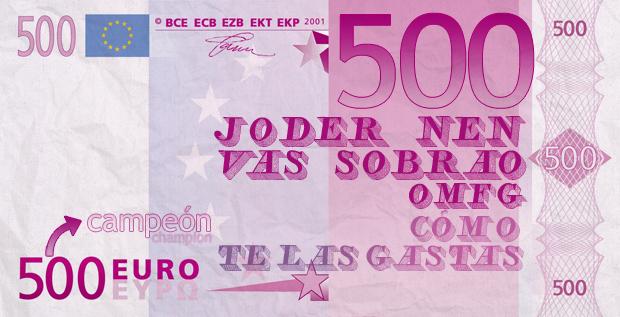 Los Nuevos Billetes De 500 Euros Incluirán Frases Como Vas
