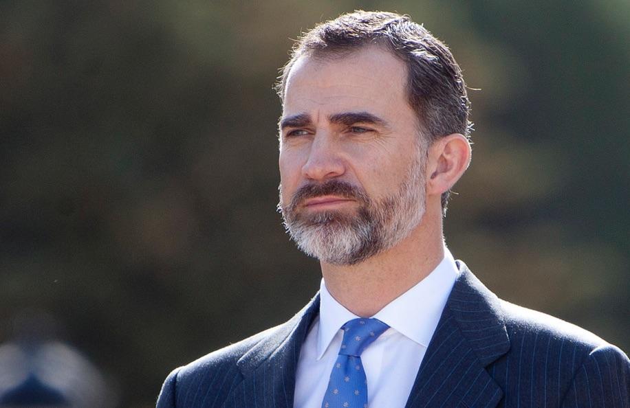 El rey Felipe VI, sorprendido de jugar un papel activo en España y tener que trabajar