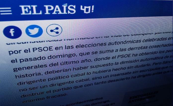 Frases Destacadas Del Editorial Que El País Ha Dedicado A