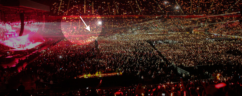 Interrumpe Un Concierto De Los Rolling Stones Para Mandar