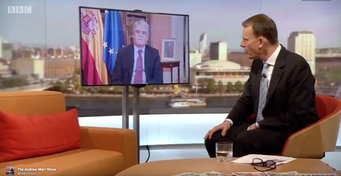 Dastis Dice En La Bbc Que Es Fake News Que Espana Este Gobernada Por El Partido Popular El Mundo Today