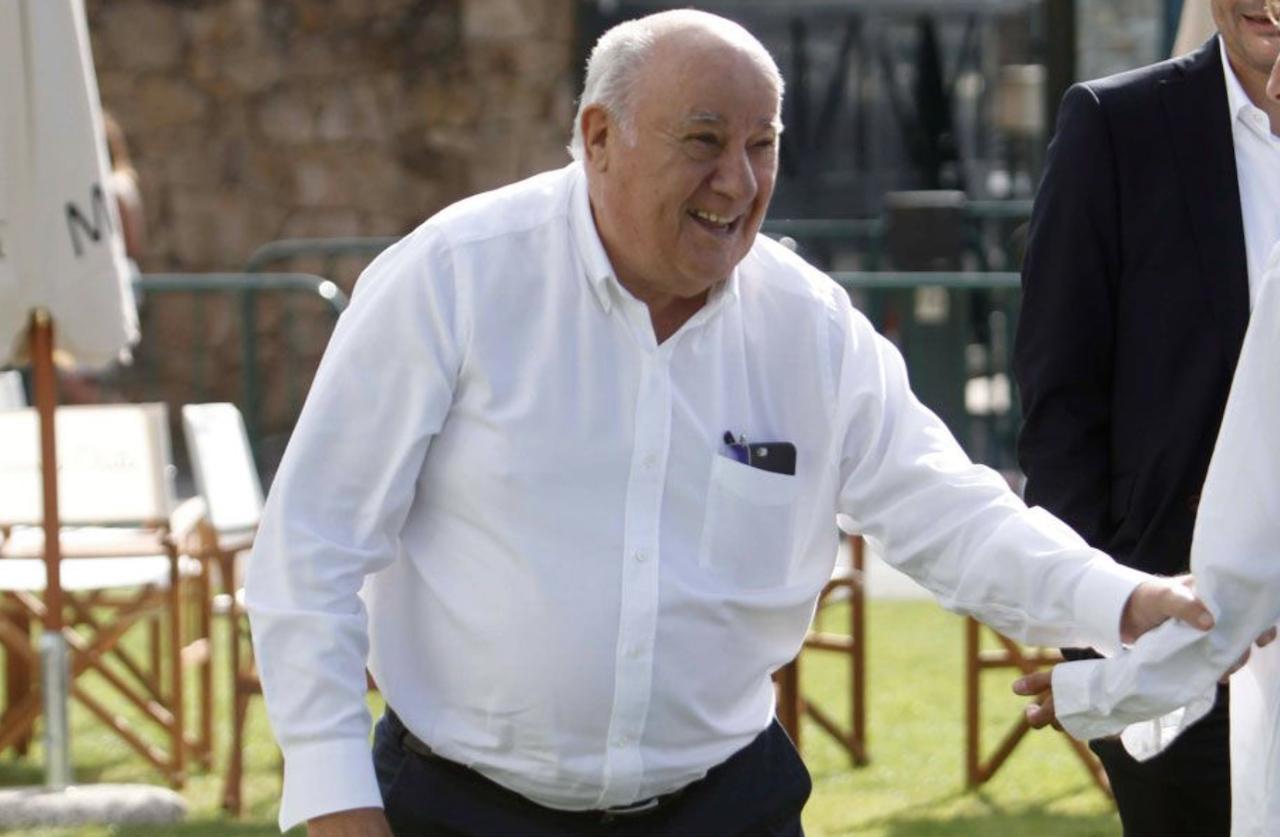 Amancio Ortega dona 20 euros a un restaurante del que se fue sin pagar un menú de 40
