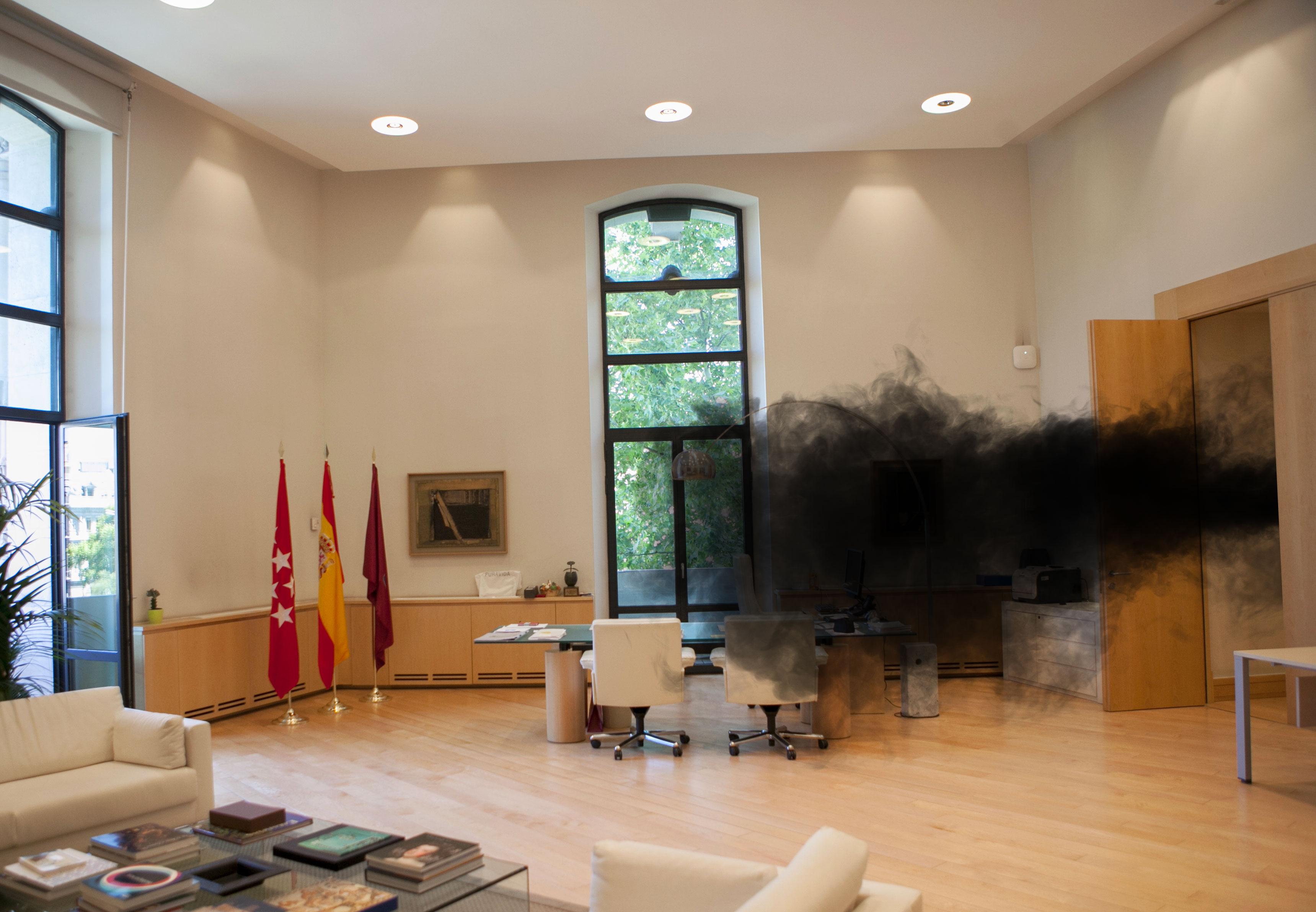 El humo negro de Lost, consejero de movilidad del Ayuntamiento de Madrid