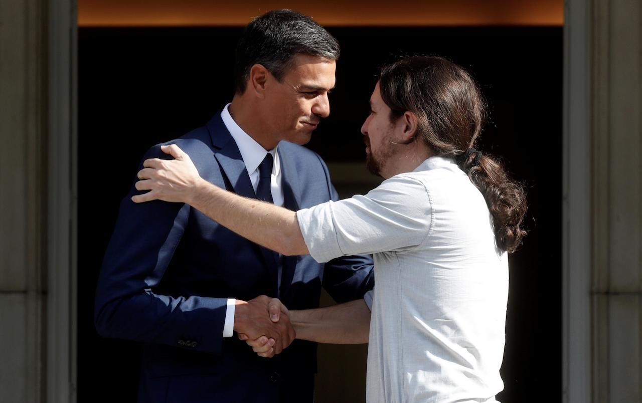 Pedro Sánchez ofrece a Pablo Iglesias ser presidente de mesa en unas nuevas elecciones