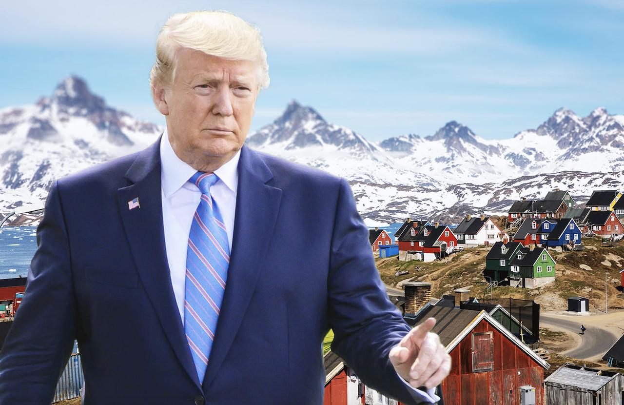 Dinamarca no sabe cómo ocultarle a Trump que su esposa ya le ha comprado Groenlandia pero quiere que sea una sorpresa