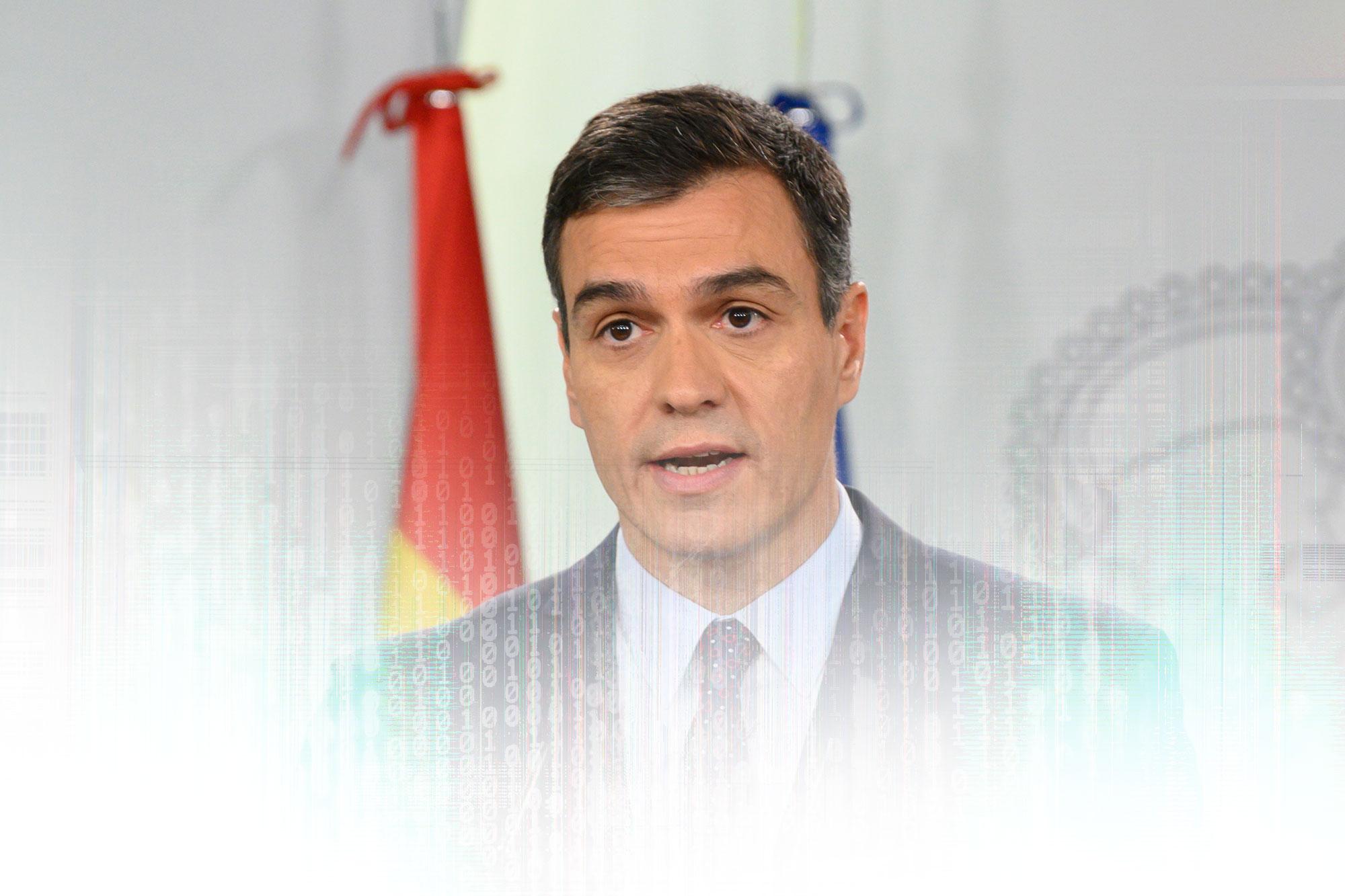 Pedro Sanchez niega que el decreto para cortar Internet sea un acto de cens